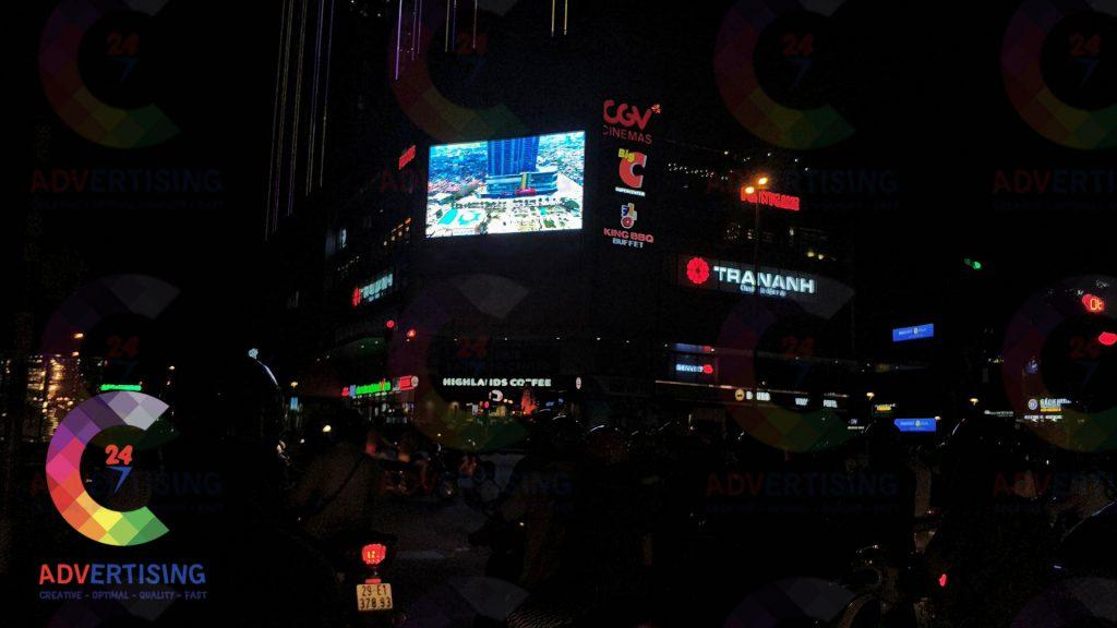 làm màn hình led ngoài trời cỡ lớn tại quận 1 Hồ Chí Minh