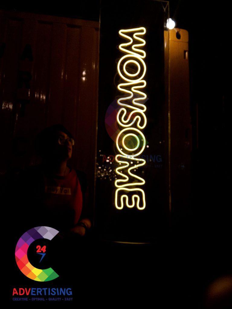 Địa chỉ làm đèn Neon Sign công nghệ LED uy tín nhất Quận 9