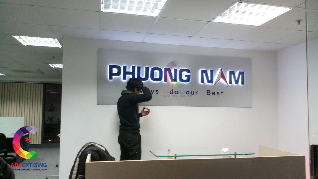 Mẫu bảng hiệu quảng cáo đẹp cho công ty, doanh nghiệp