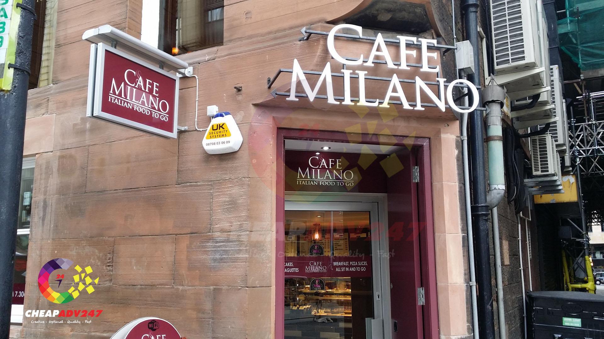 bảng hiệu quán cafe đẹp và chất