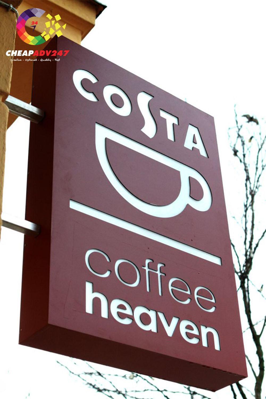 bảng hiệu quán cafe độc đáo