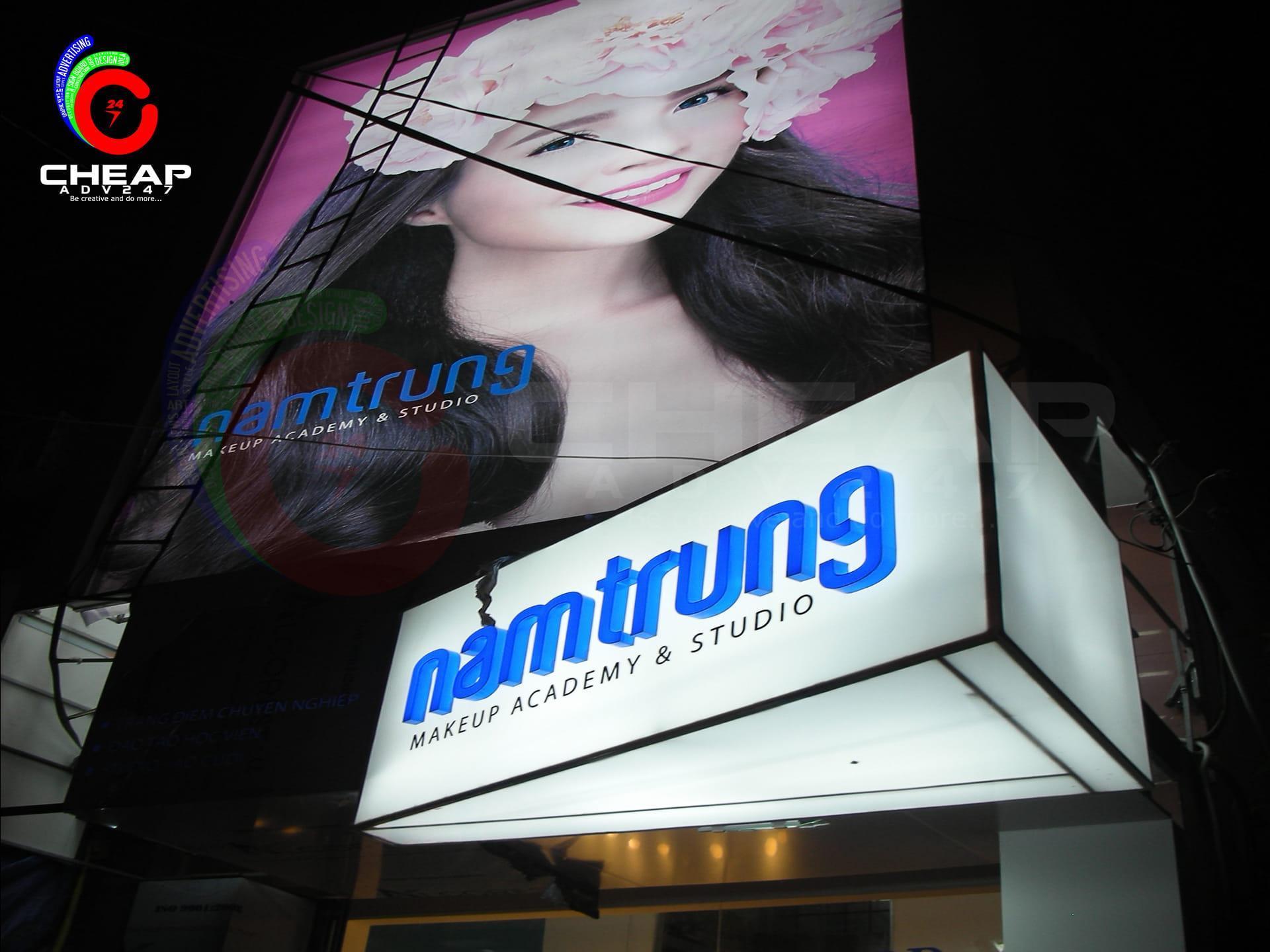 Làm bảng hiệu quảng cáo hộp đèn tại cheapadv247