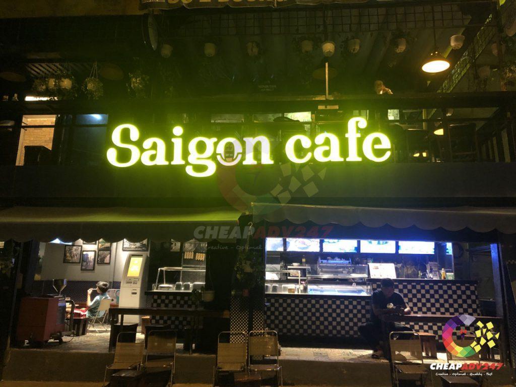 mẫu bảng hiệu cafe đẹp tại cheapadv247