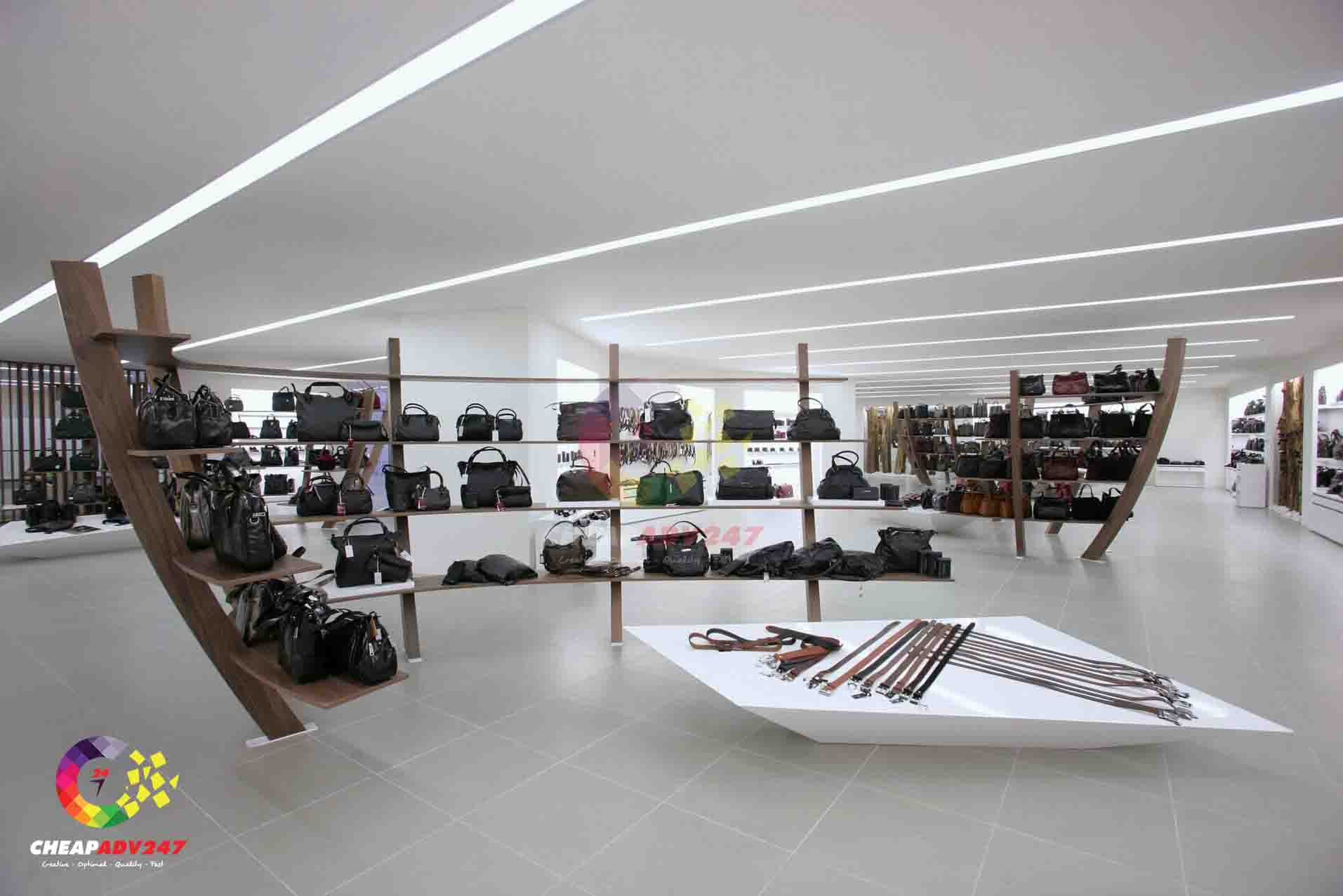 Thiết kế thi công showroom trưng bày thời gian đẹp