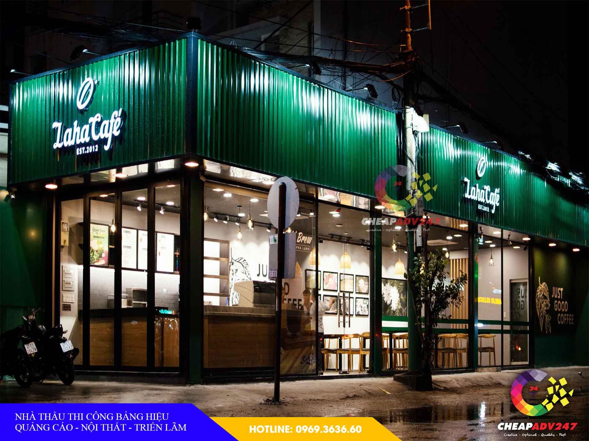 giá làm bảng hiệu quán cafe tại cheapadv247 - ảnh 3