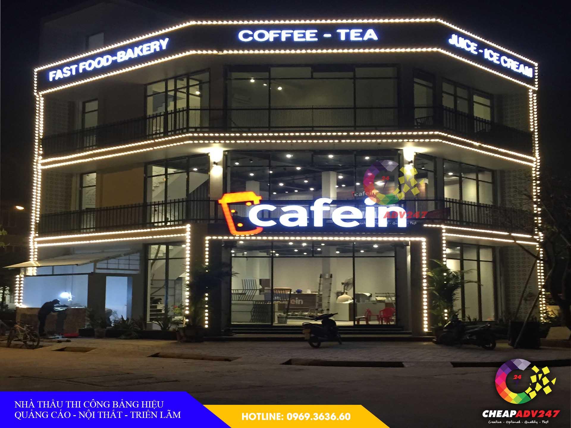Mẫu biển hiệu quán cà phê tại cheapadv247 - ảnh 2