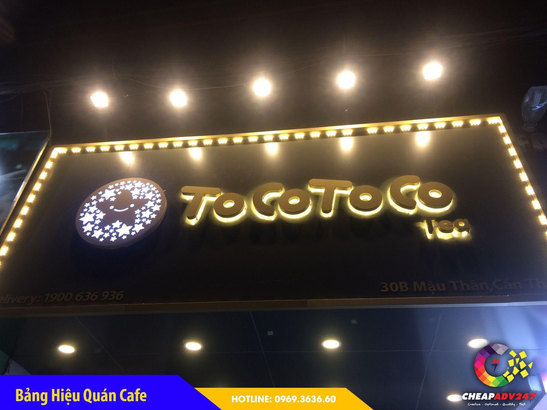 Báo giá bảng hiệu quán cafe tại cheapadv247 - ảnh 4