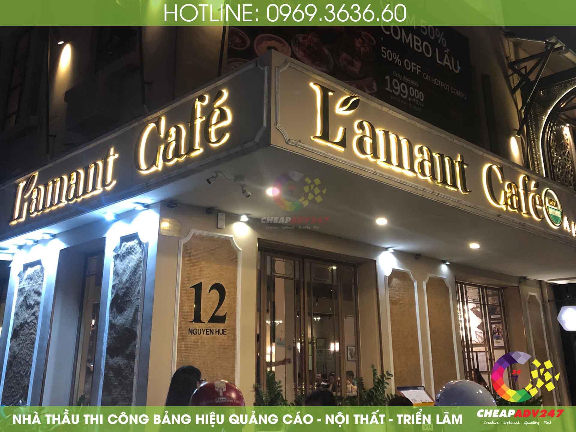 Báo giá bảng hiệu quán cafe tại cheapadv247 - ảnh 3