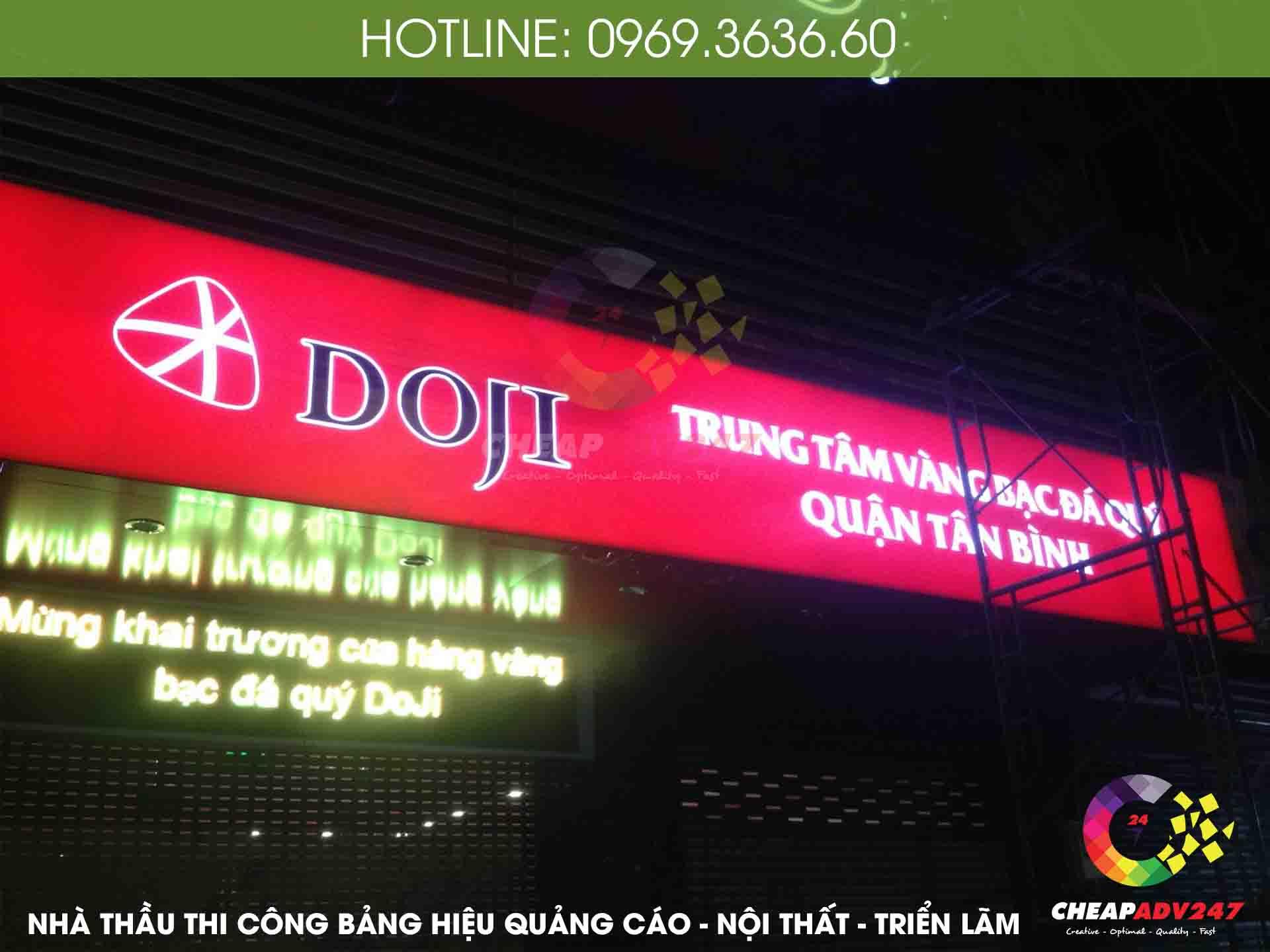 ảnh bảng hiệu hộp đèn hiflex tại cheapadv247