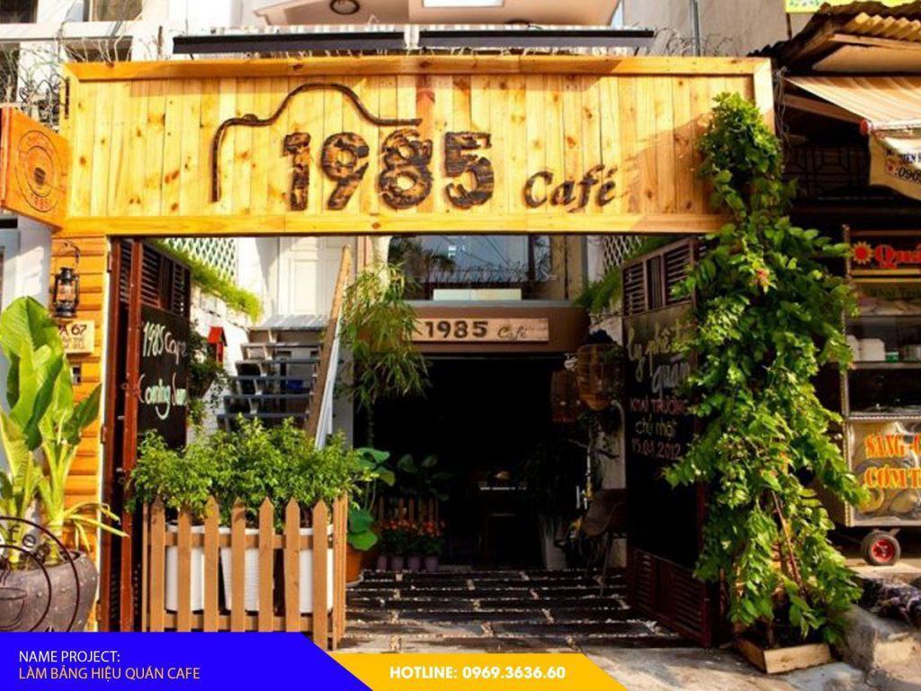 làm bảng hiệu quán cafe đẹp uy tín cheapadv247