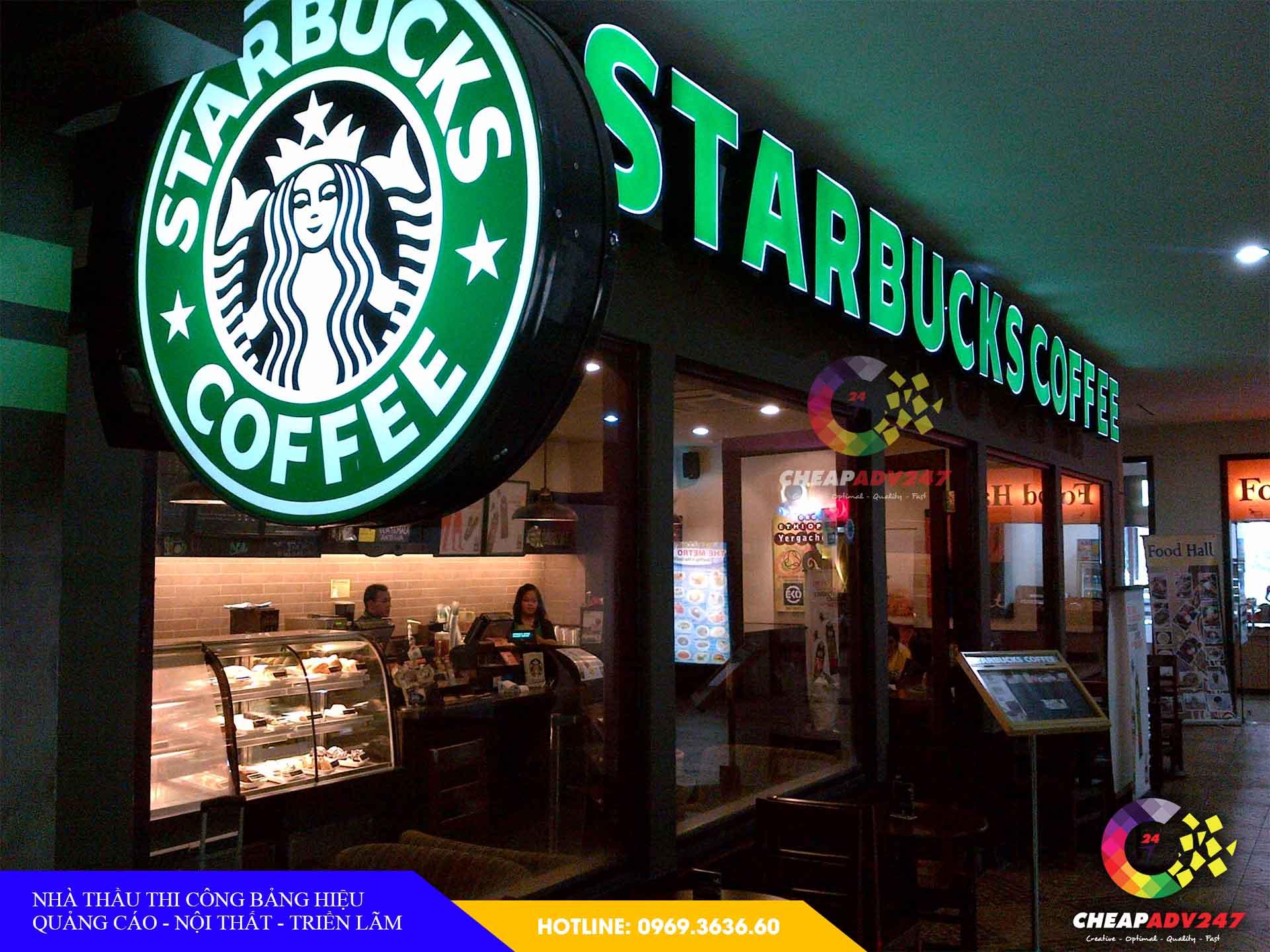 Làm Bảng hiệu hộp đèn quán cafe tại cheapadv247 - ảnh 2