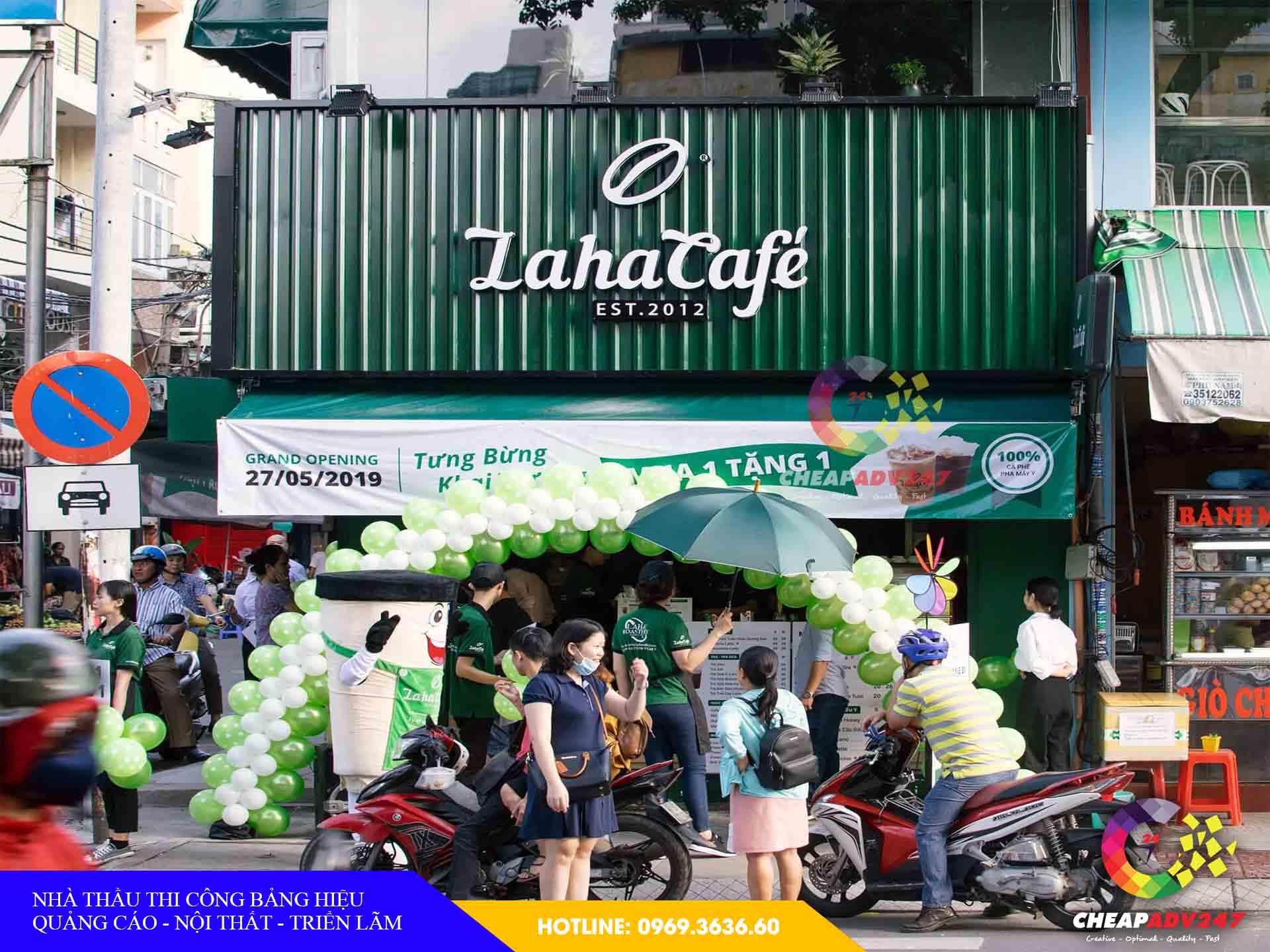 giá làm bảng hiệu quán cafe tại cheapadv247 - ảnh 2
