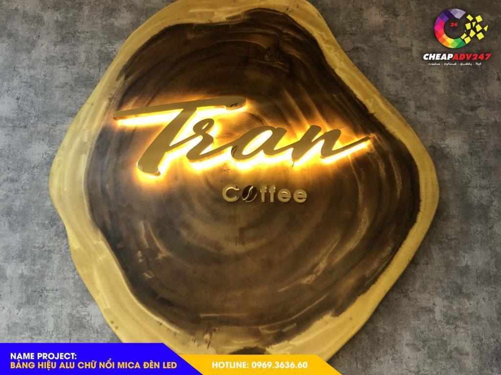 Báo giá bảng hiệu quán cafe tại cheapadv247