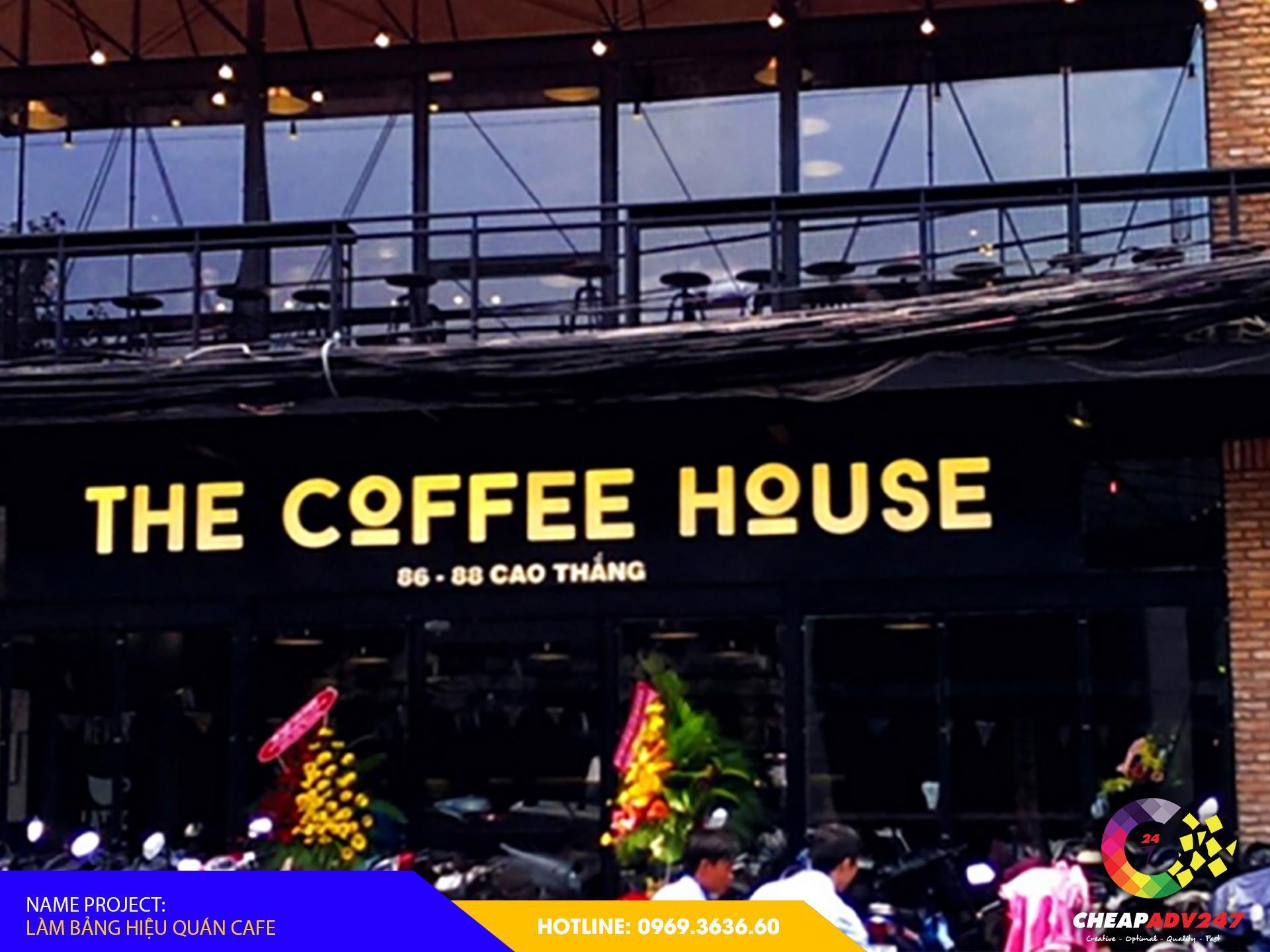 làm bảng hiệu quán cafe đẹp của cheapadv247
