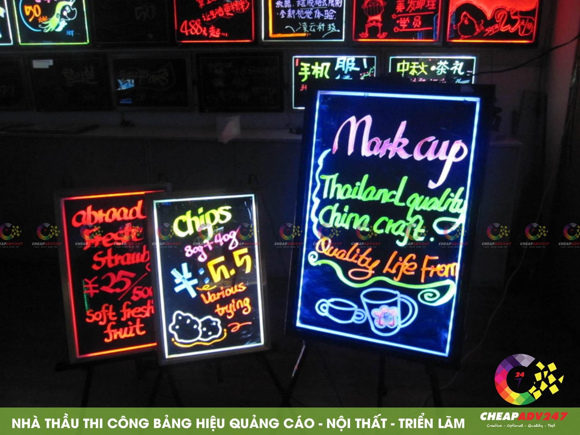 ảnh mẫu làm bảng hiệu đèn led đẹp tại cheapadv247 - ảnh 4