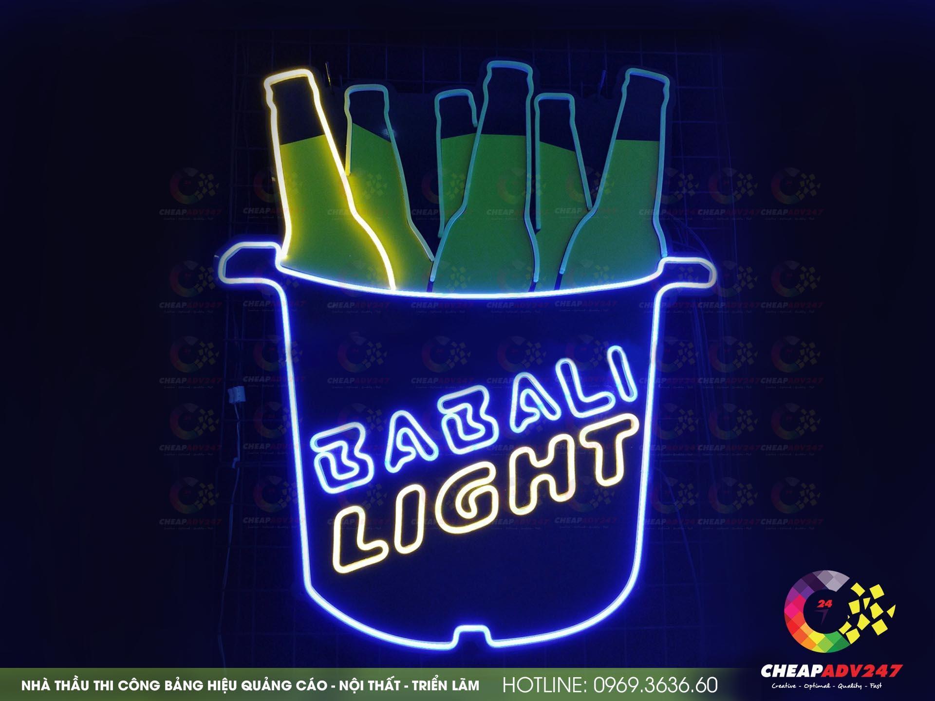 làm đèn neon sign tại cheapadv247