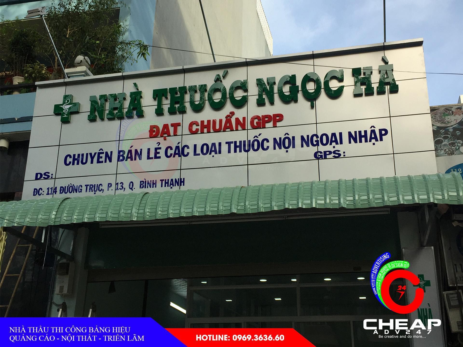 Ảnh bảng giá biển hiệu alu tại cheapadv247- ảnh 1