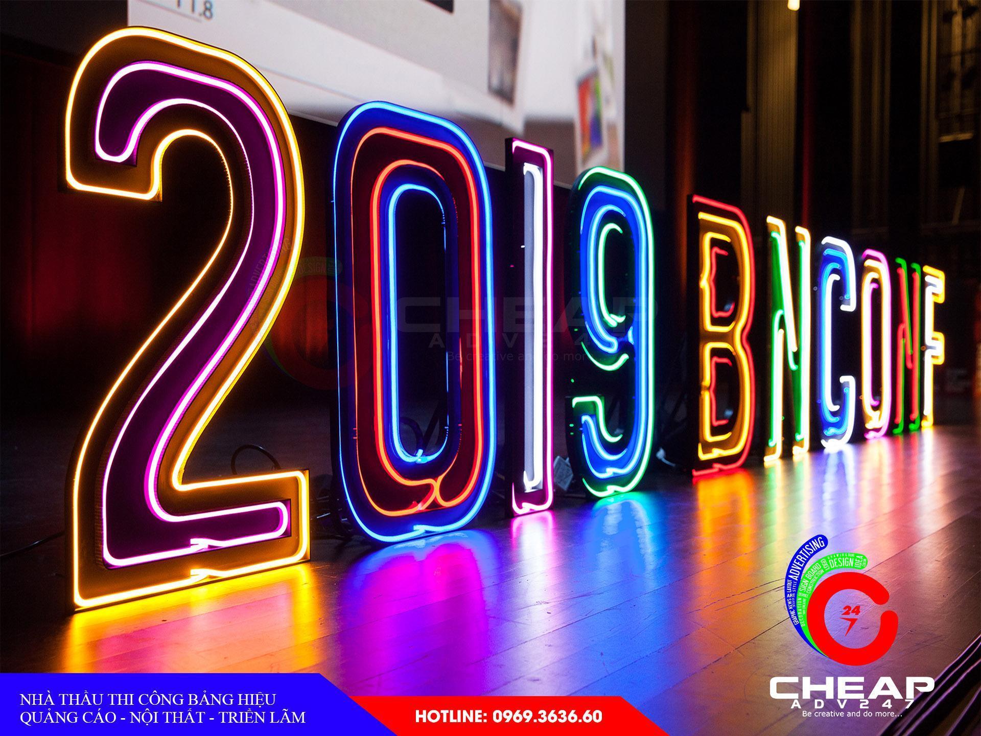 Làm bảng hiệu neon sign tại cheapadv247 - ảnh 1