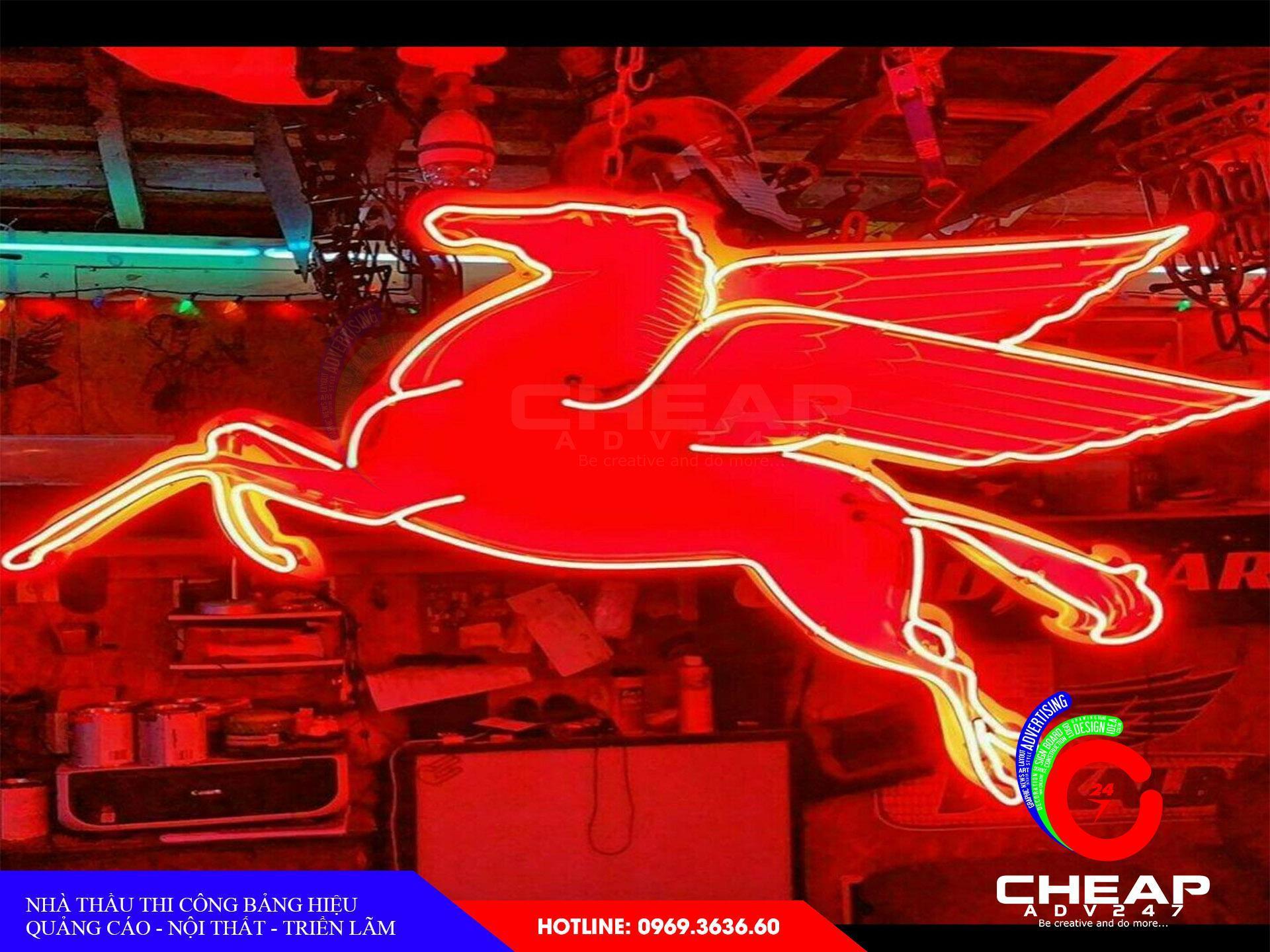 Làm bảng hiệu neon sign tại cheapadv247 - ảnh 3