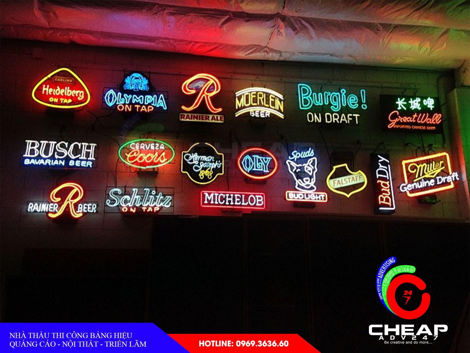 Làm bảng hiệu neon sign tại cheapadv247 - ảnh 5