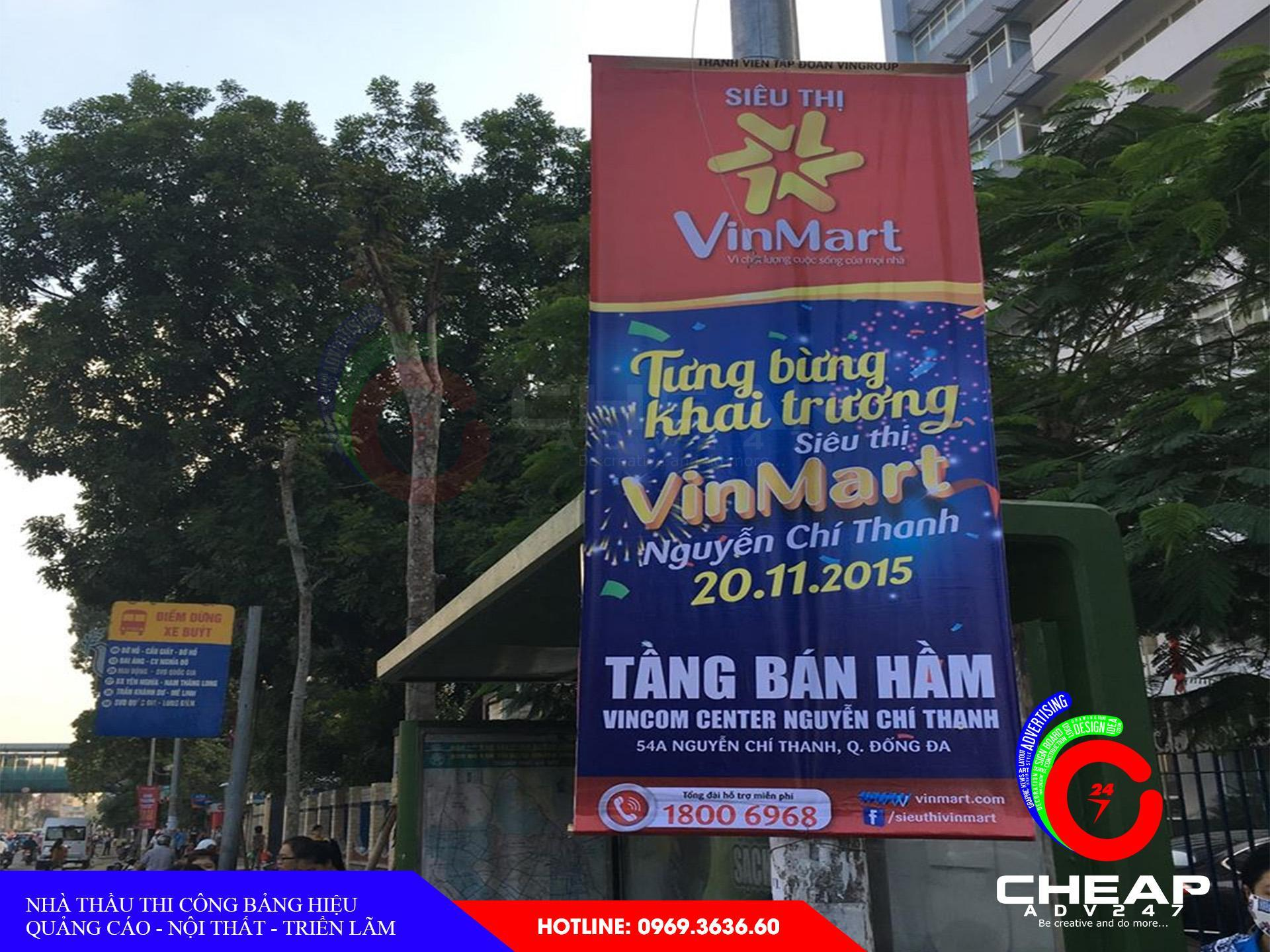 Mẫu băng rôn quảng cáo đẹp tại cheapadv247 - ảnh 1