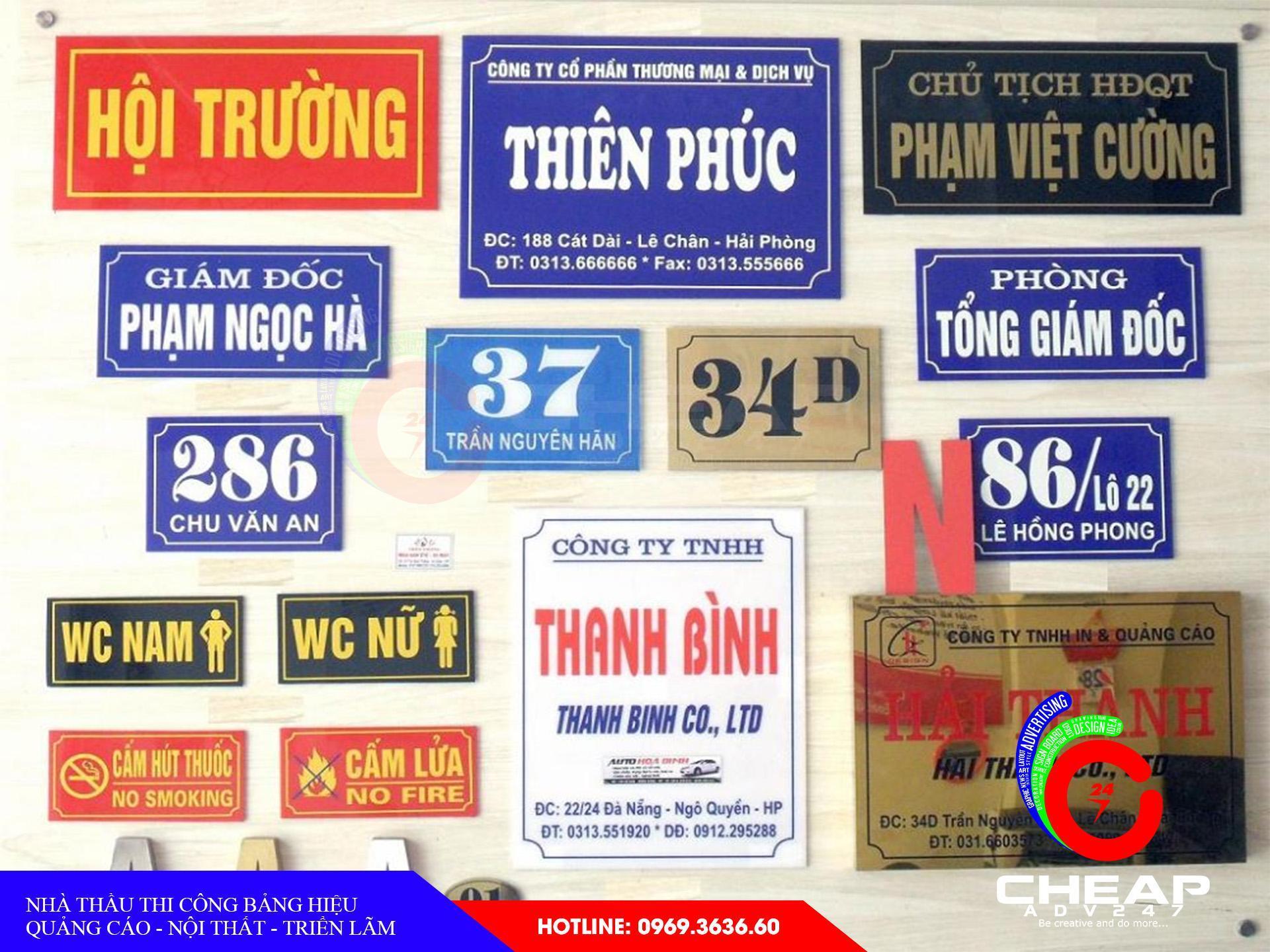Ảnh báo giá làm bảng hiệu quảng cáoMica tại cheapadv247