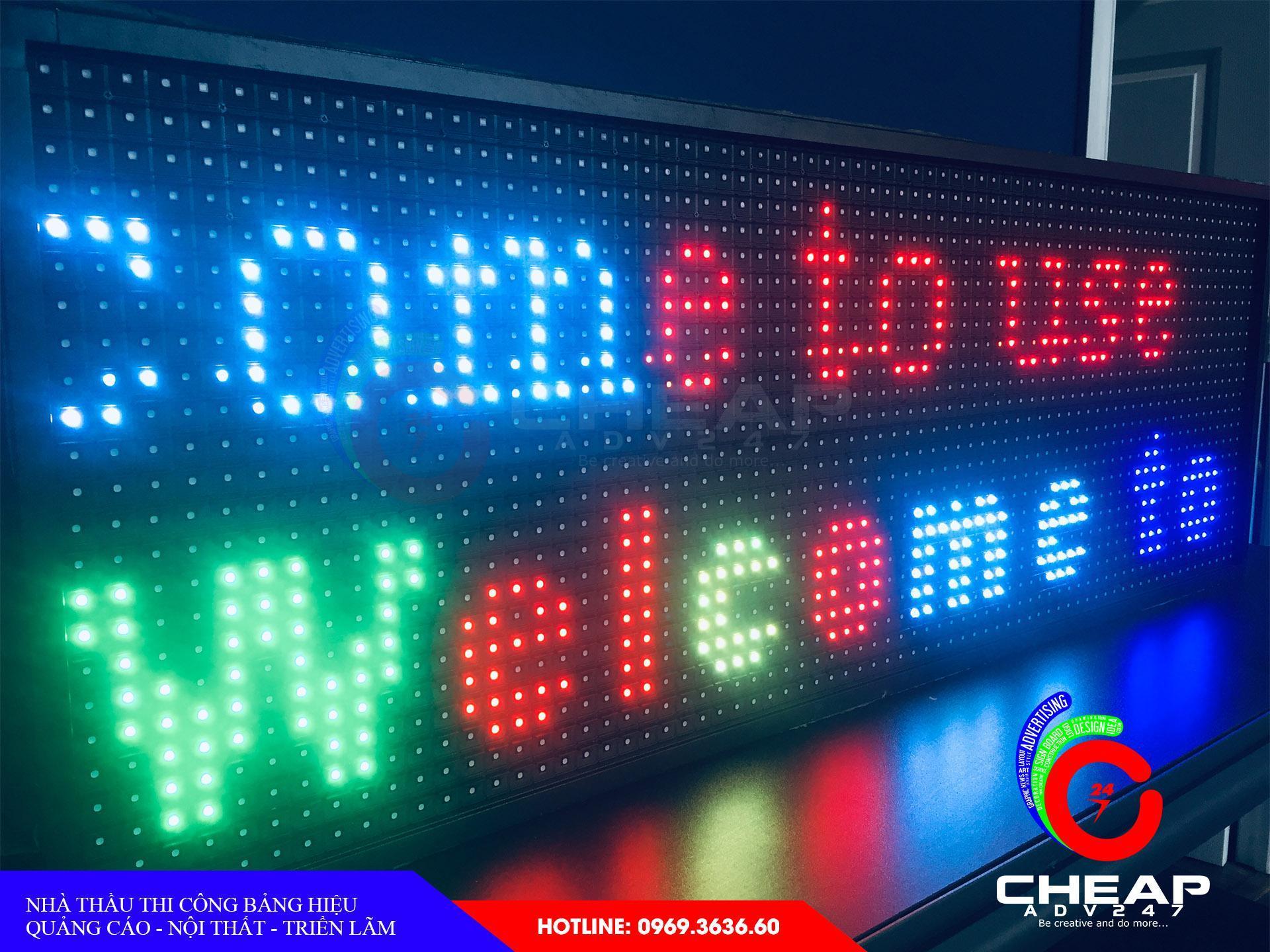 Ảnh báo giá làm bảng hiệu quảng cáoLed tại cheapadv247