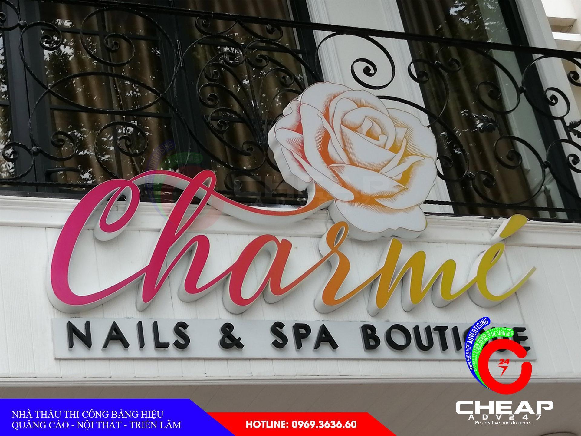 Ảnh làm biển quảng cáo spa tại cheapadv247