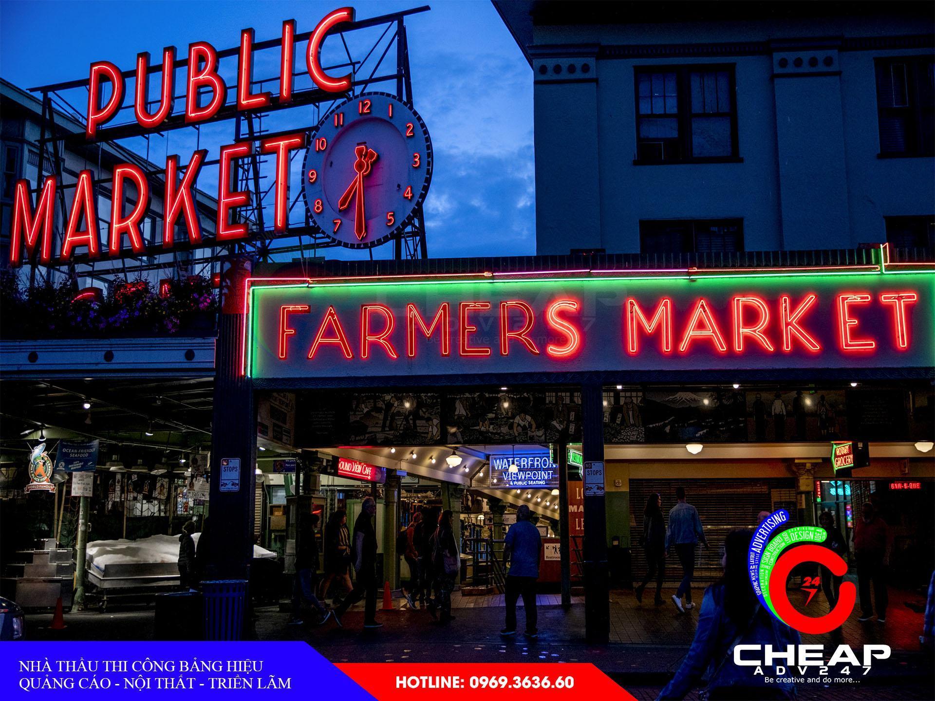 Làm biển hiệu quảng cáo Neon Sign tại cheapadv247