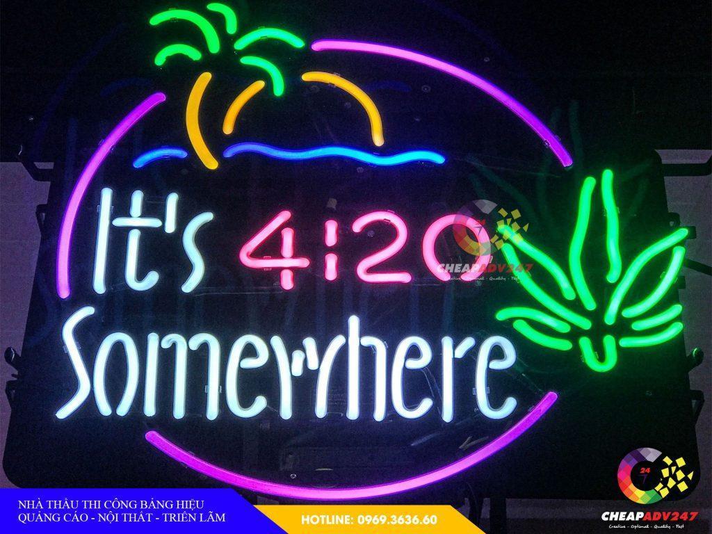 làm đèn neon sign quận hóc môn tại cheapadv247