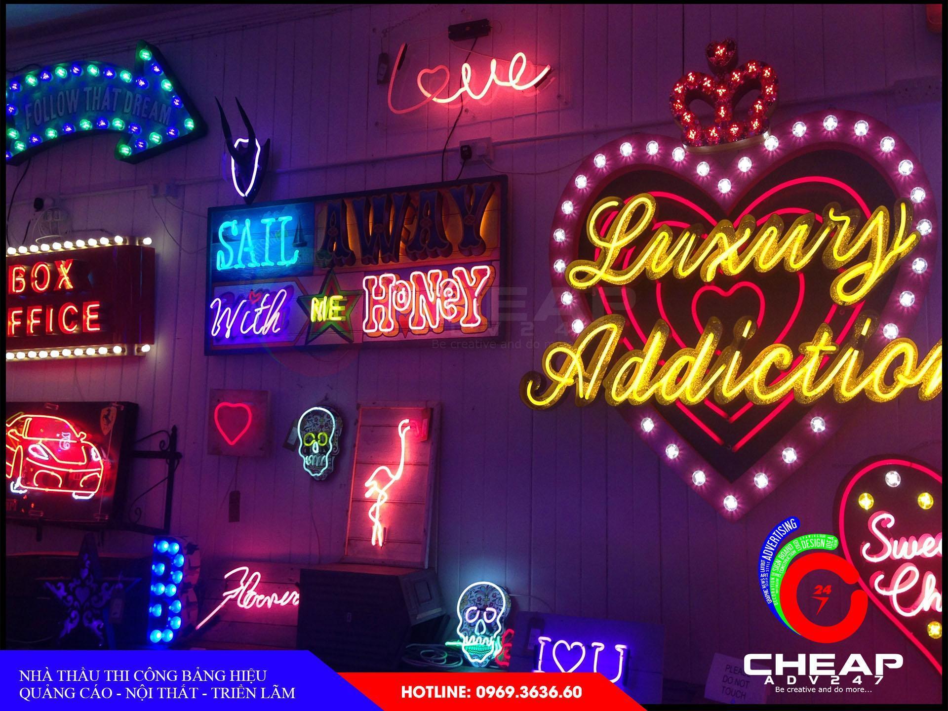Ảnh làm đèn neon sign tại đà lạt do cheapadv247 thi công