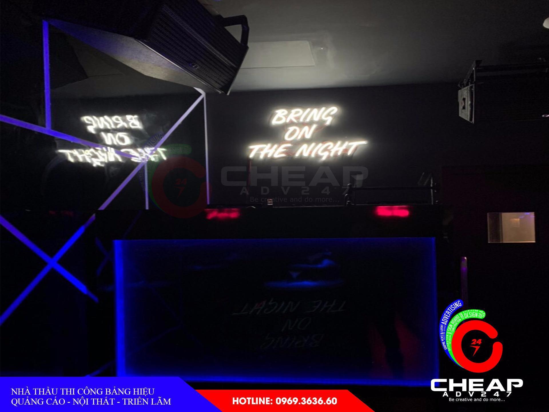 Những mẫu đèn neon sign đẹp nhất năm 2019 do cheapadv247 tổng hợp