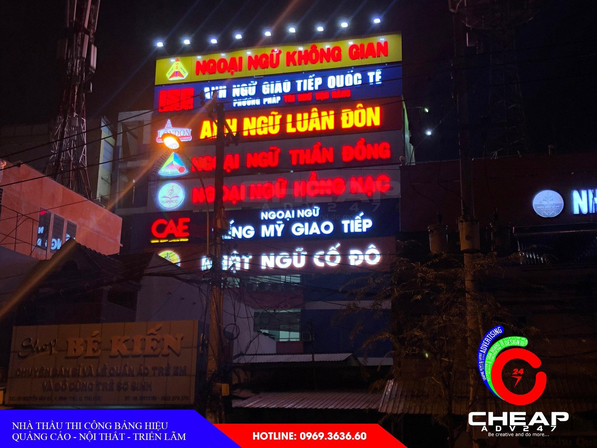 Ảnh mẫu bảng hiệu quảng cáo đẹp nhất của cheapadv247