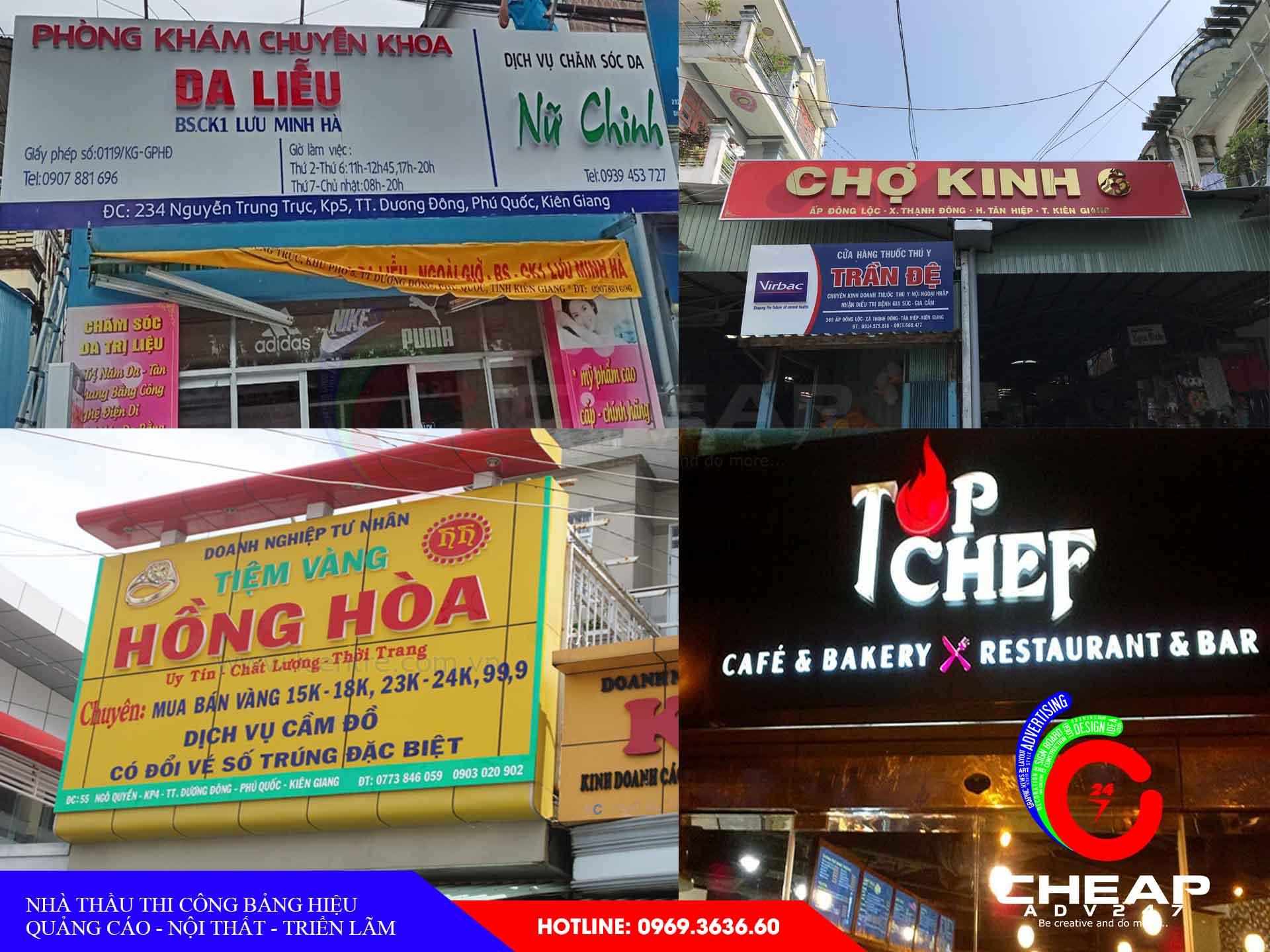 Làm bảng hiệu quảng cáo kiên giang tại cheapadv247