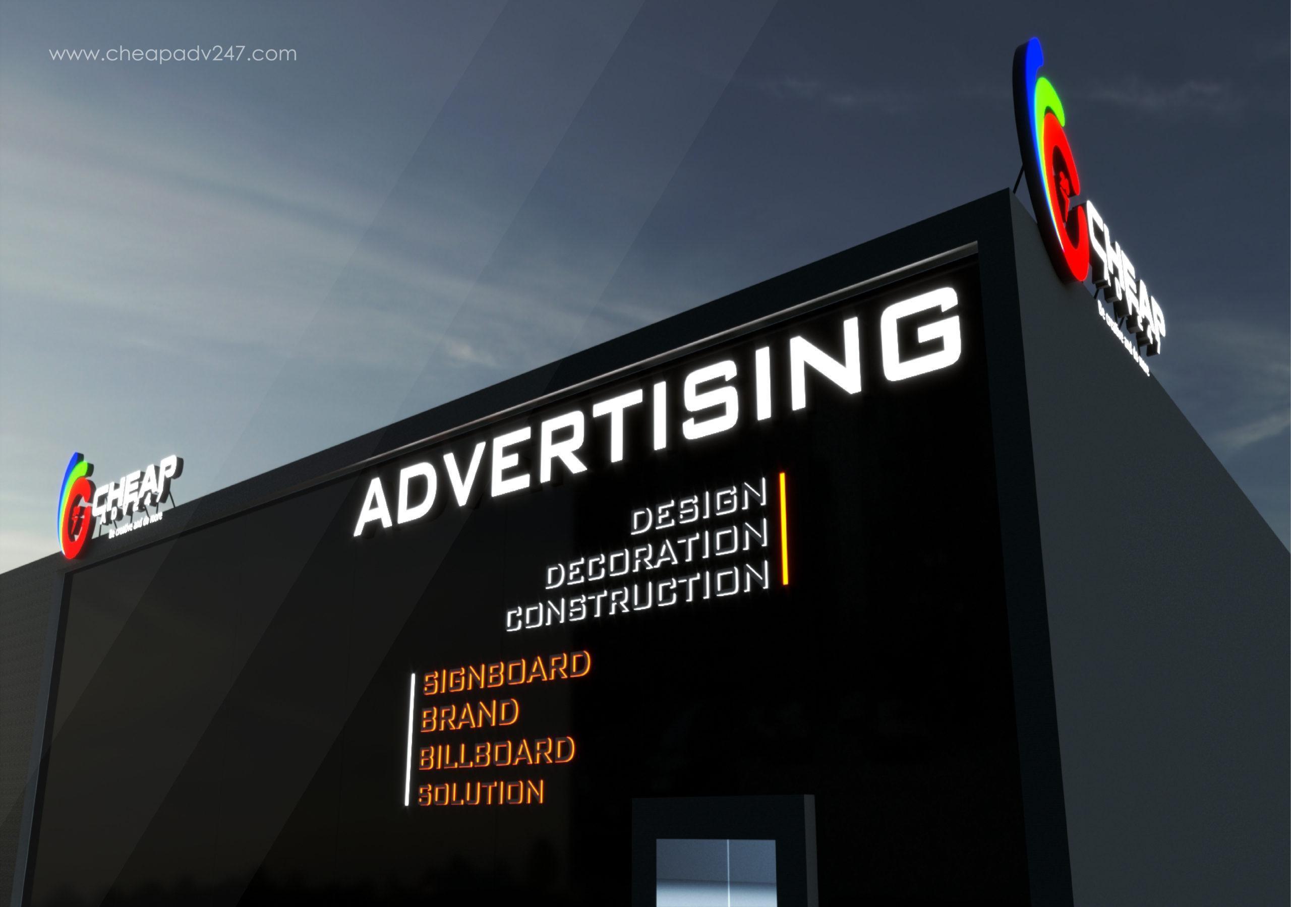 Công ty làm bảng hiệu quảng cáo Cheapadv247 rất hân hạnh được phục vụ quý khách
