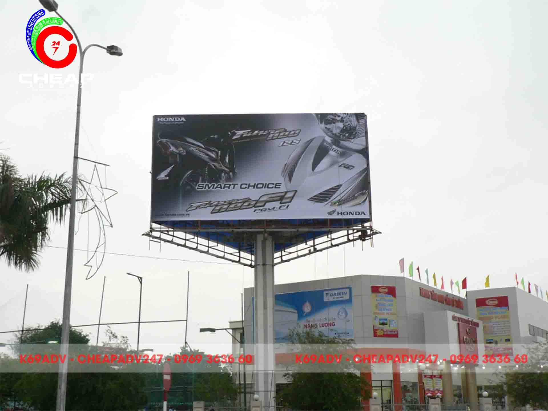 Mẫu thiết kế biển quảng cáo Pano tại K69ADV