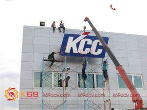 Thi công biển quảng cáo K69ADV