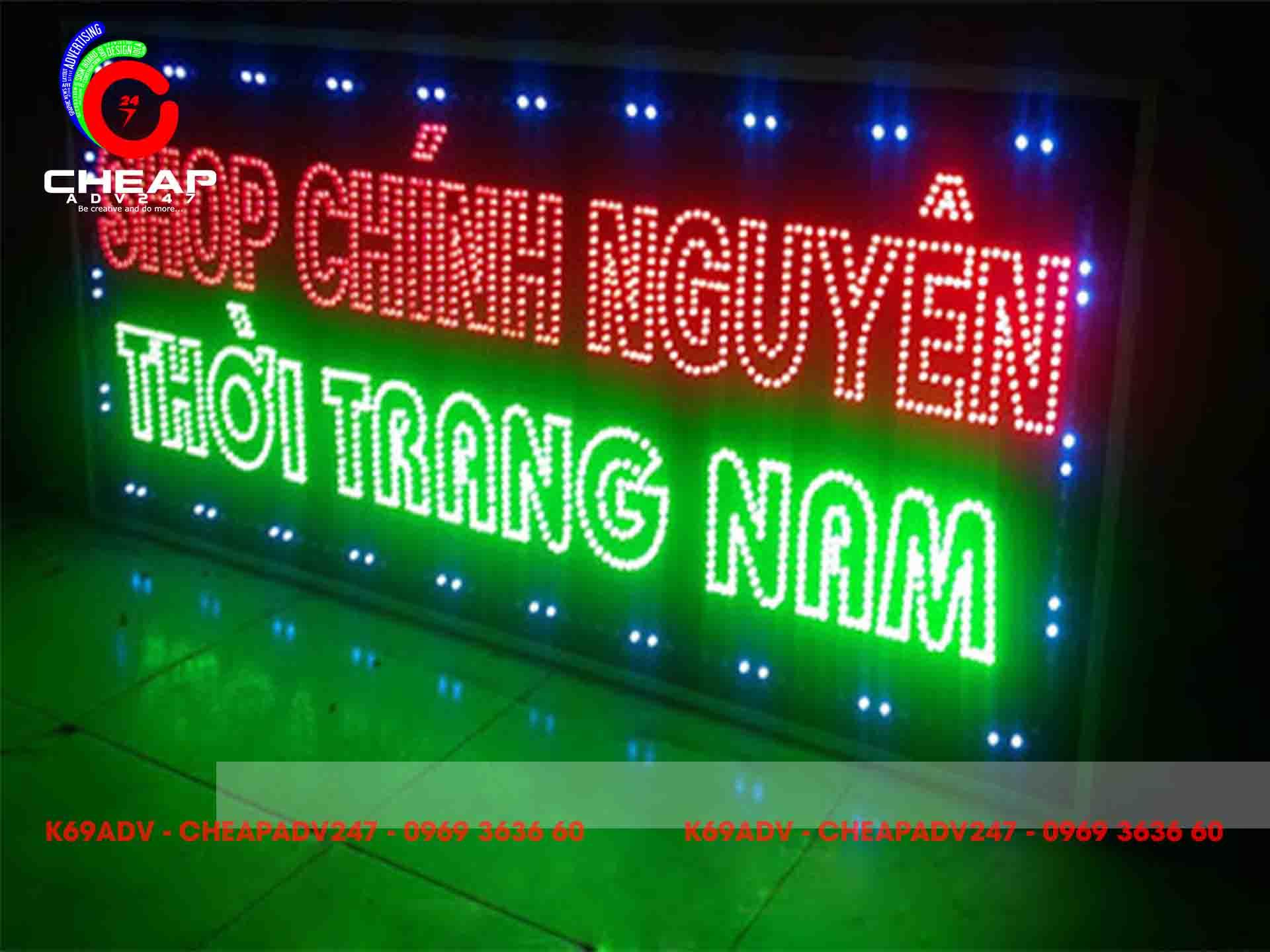 Bảng hiệu đèn LED - Cheapadv247