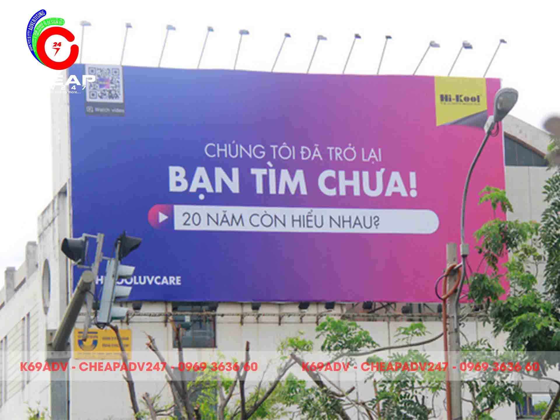 Mẫu bảng hiệu PANO ngoài trời cho tòa nhà tại Cheapadv247