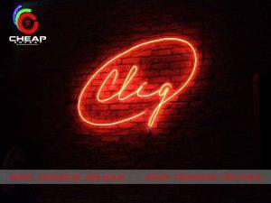 Công Trình Thi Công Bảng Hiệu Led Neon Sign Tại Quán Bar Cliq Sài Gòn Của Cheapadv247