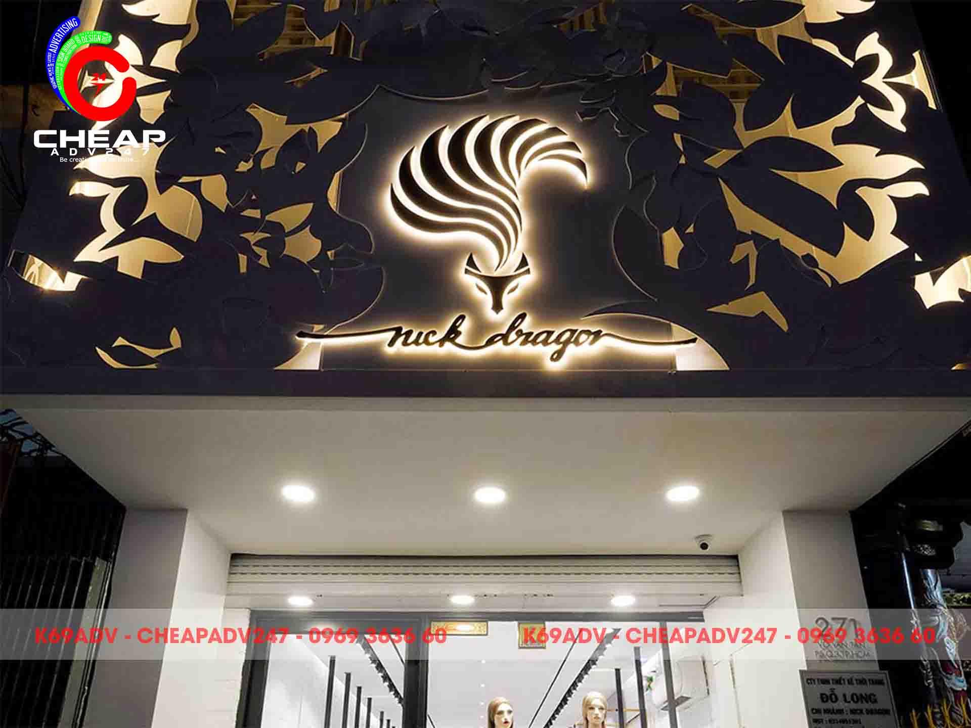 Cheapadv247 chuyên làm bảng hiệu shop thời trang