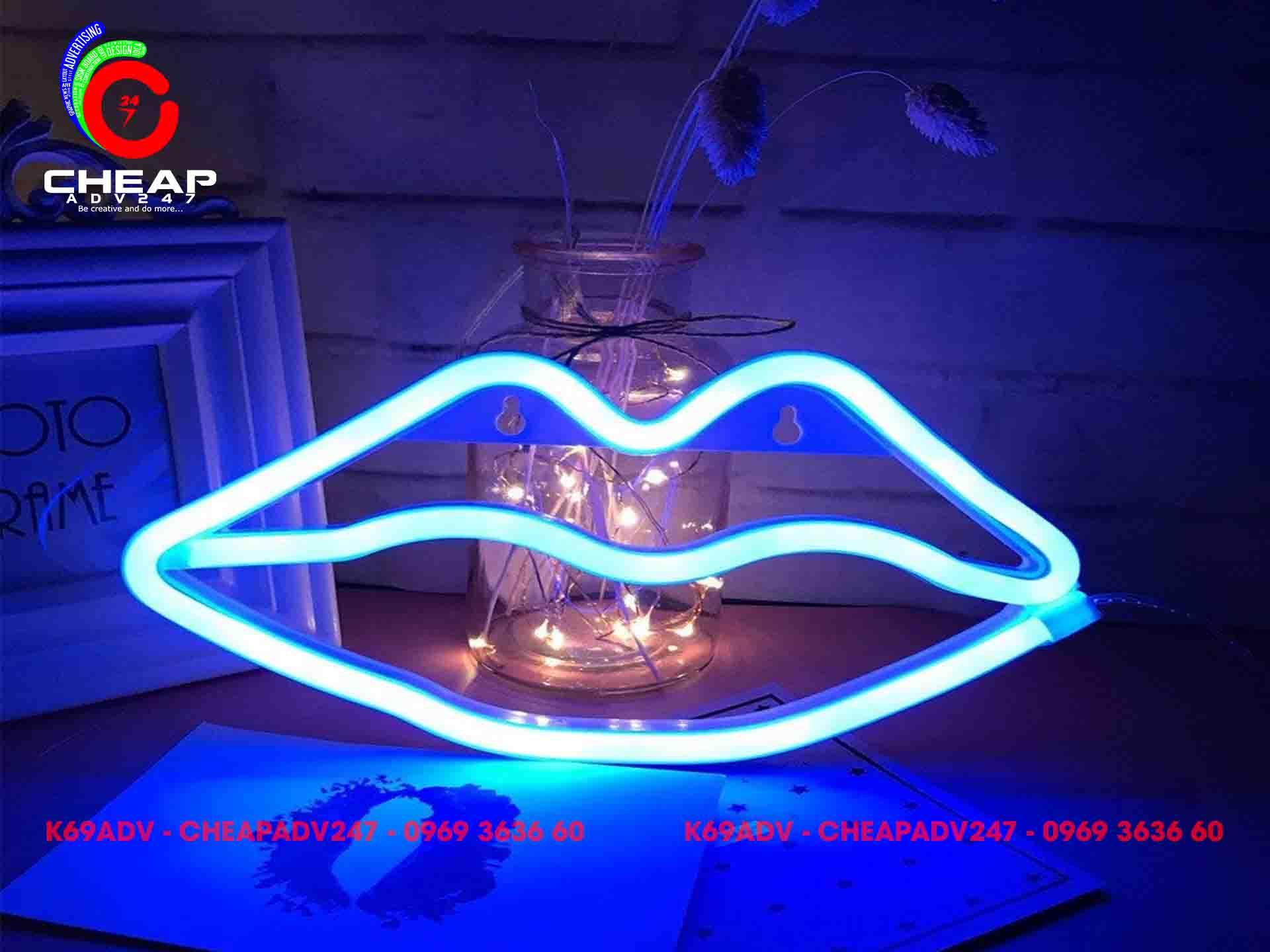 Thi công đèn Neon Sign tại Cheapadv247