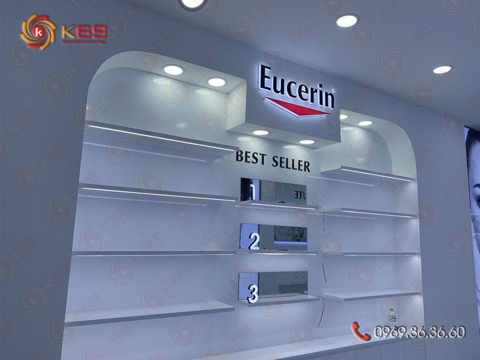 làm bảng hiệu thương hiệu Eucerin