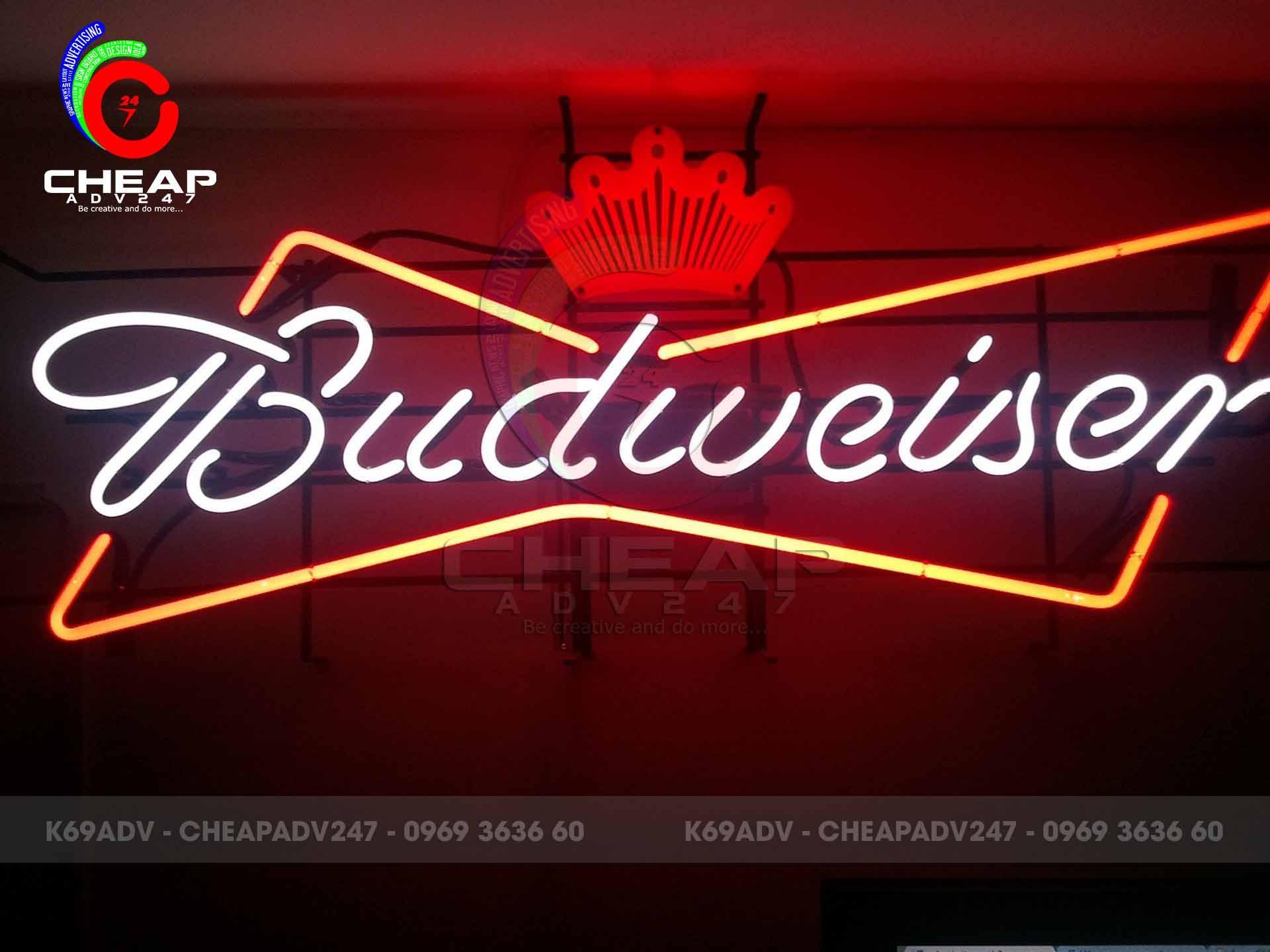 mẫu đèn neon sign quán cafe quận 1