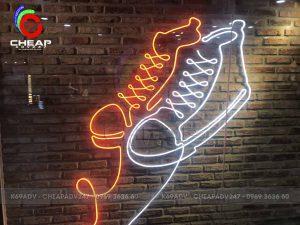 mẫu đèn neon sign shop